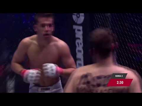 "Kamil ""Hassi"" Hassan Fame MMA 3 Highlights"