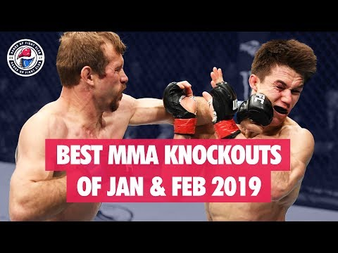 Best MMA Knockouts of Jan / Feb 2019 (UFC, Bellator, LFA)