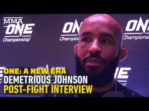 ONE Championship: Demetrious Johnson Discusses 'Rough' Start, Eddie Alvarez Loss, More