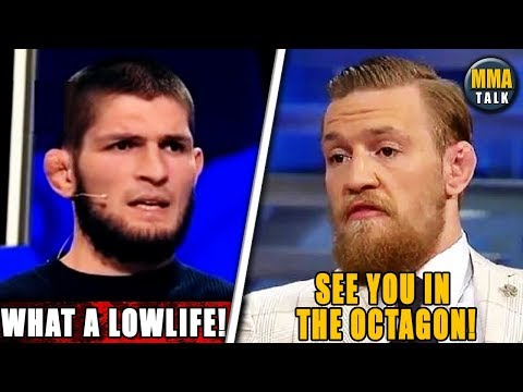 Khabib Responds to Conor McGregor's Insults, Holloway Reacts to Conor/Khabib Beef, Sonnen vs Machida