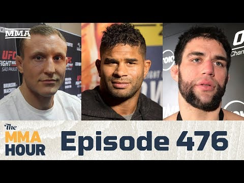 The MMA Hour: Episode 476 (w/ Alistair Overeem, Garry Tonon in Studio and Jack Hermansson)