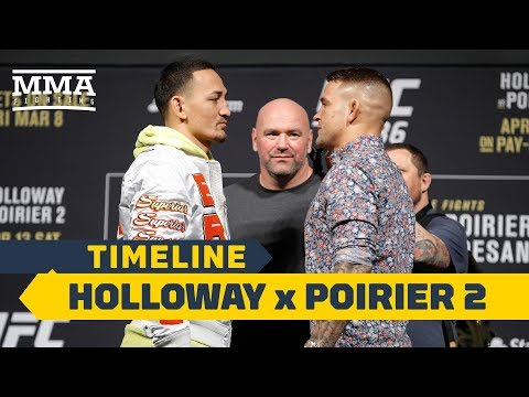 UFC 236 Timeline: Max Holloway vs. Dustin Poirier 2 – MMA Fighting