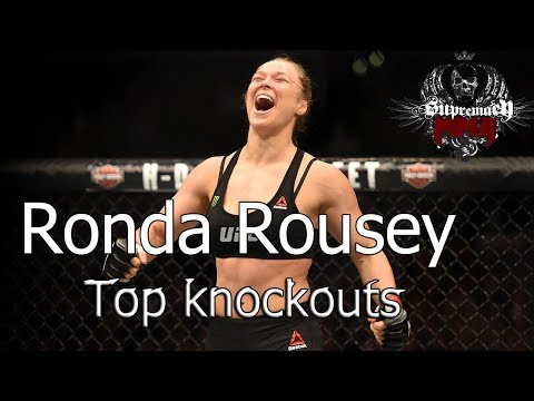Ronda Rousey 2017 – All fight KO, TKO highlights # punches, knees