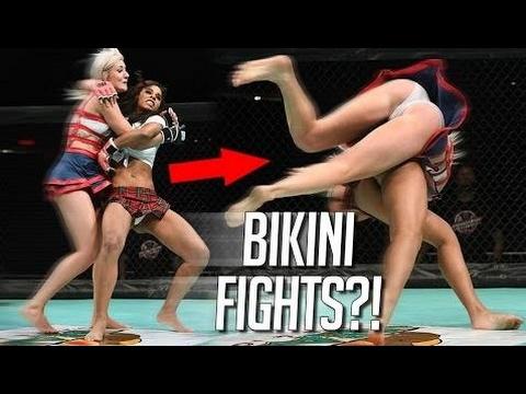 Bikini MMA Fights, WTF?!