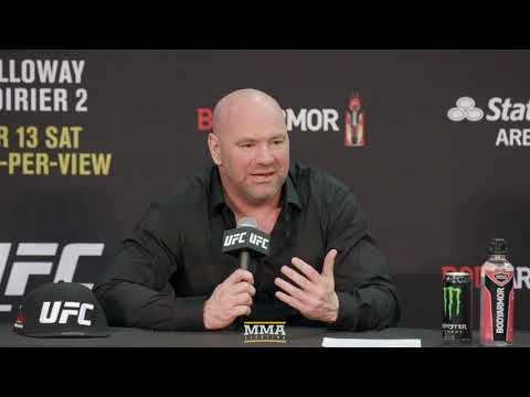 UFC 236: Dana White Post-Fight Press Conference – MMA Fighting